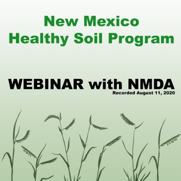 How to apply for the NM Healthy Soil Program