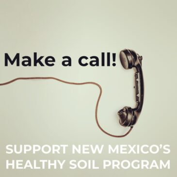 Show your support for the Healthy Soil Program!